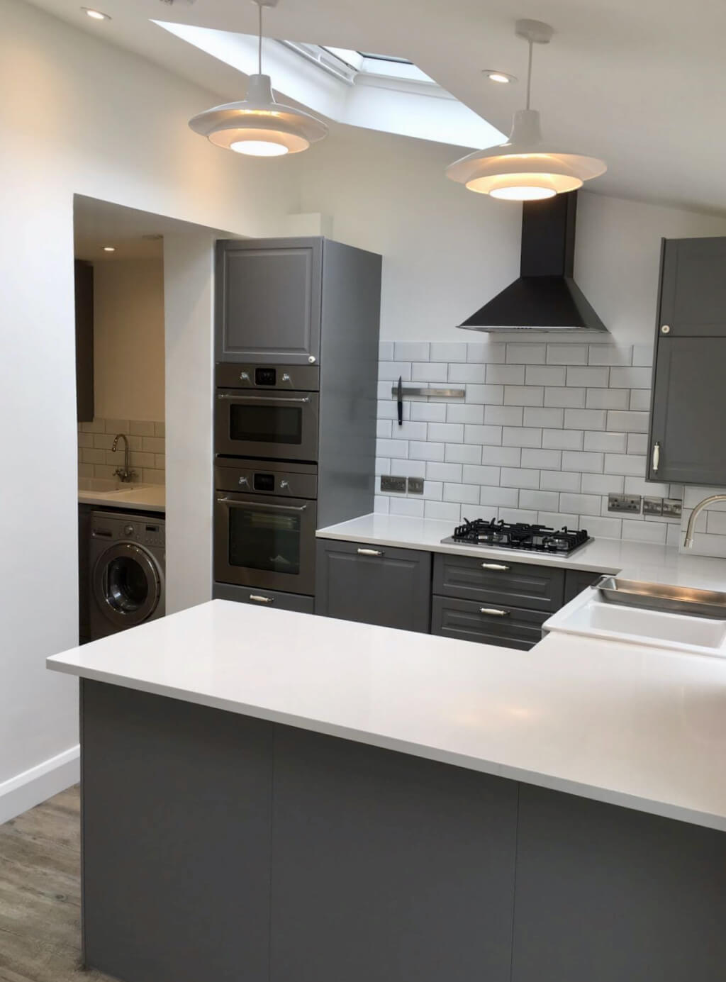 King's Construction | Ground Floor Extension - Kitchen and Utility Room| Lee Green, South London
