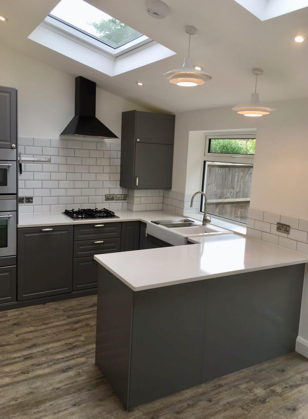 King's Construction | Ground Floor Extension -- Kitchen | Lee Green, South London