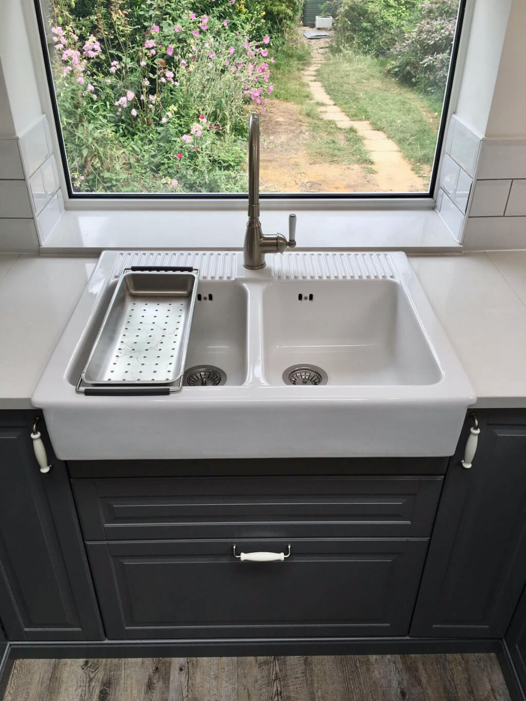 King's Construction | Ground Floor Extension - Kitchen Sink | Lee Green, South London