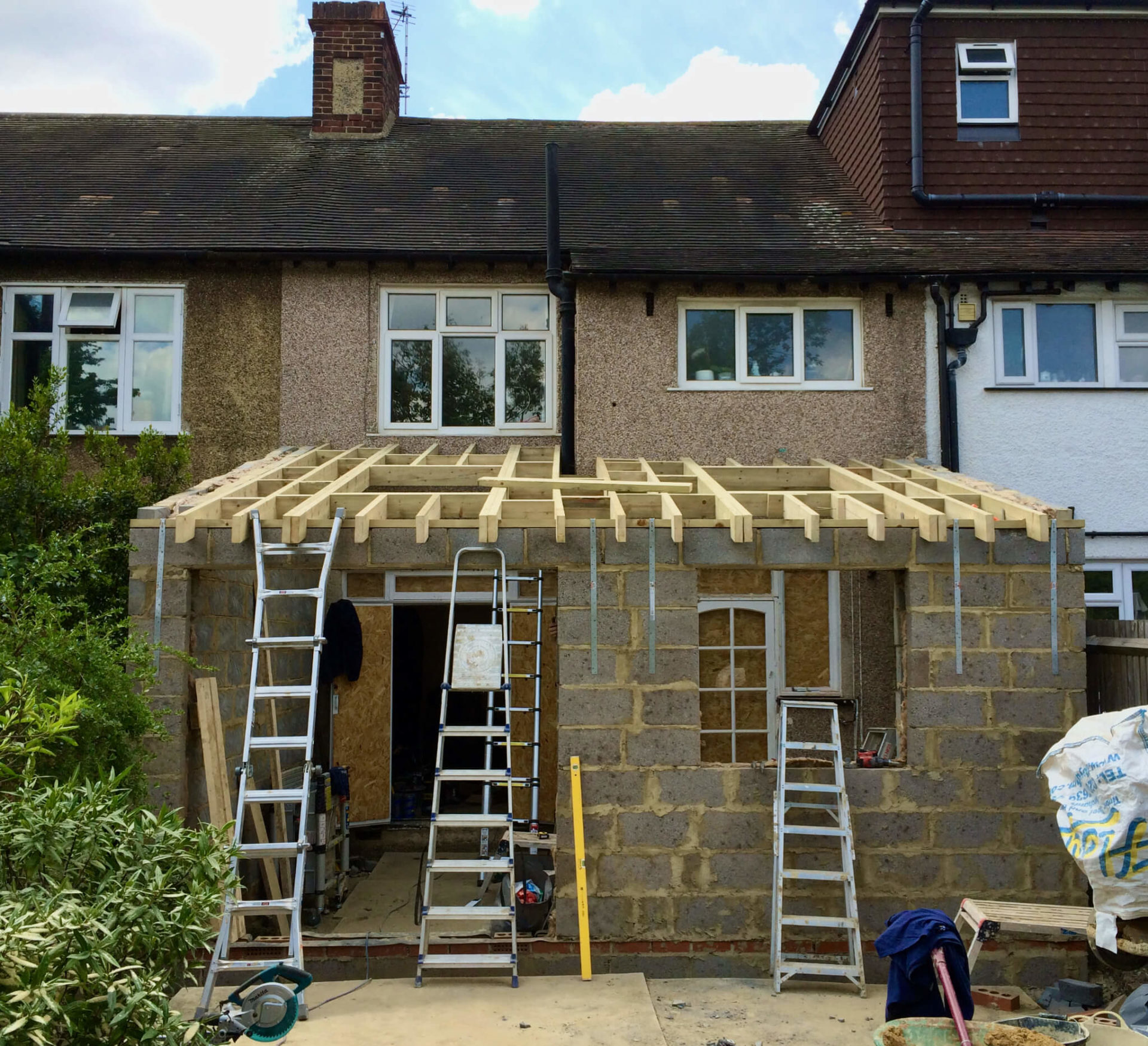 King's Construction | Ground Floor Extension | Terraced-House