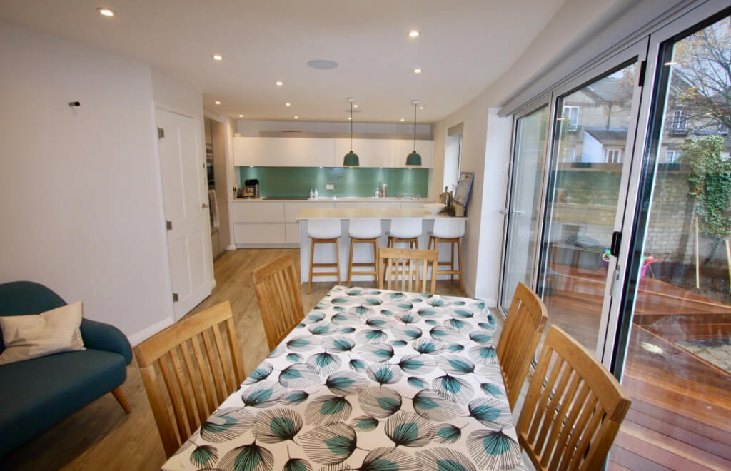 King's Construction | Ground Floor Renovation - Kitchen and Dining Space | London SE16