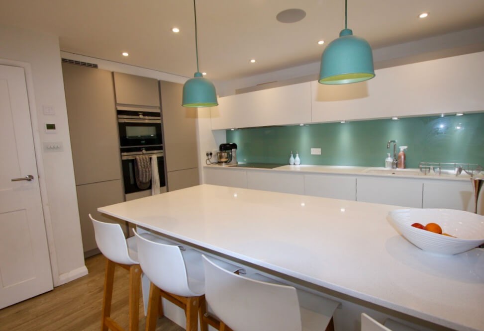 King's Construction | Ground Floor Renovation - Kitchen View | London SE16