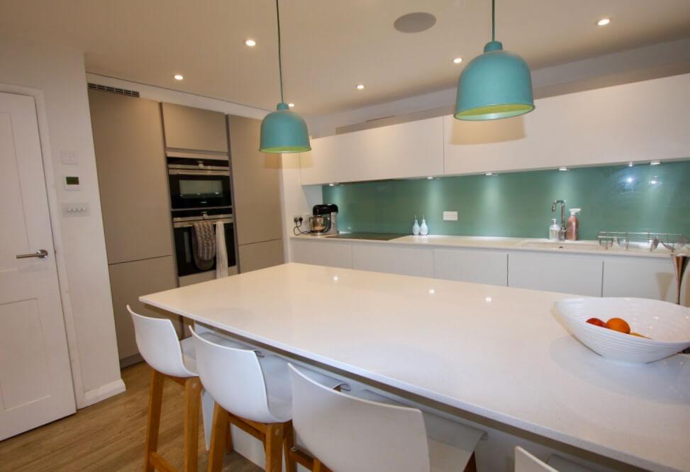 King's Construction | Ground Floor Renovation - Kitchen View | London SE16