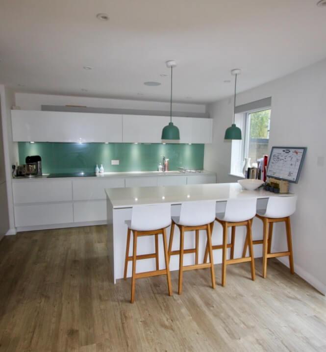 King's Construction | Ground Floor Renovation - Kitchen and Breakfast Bar | London SE16