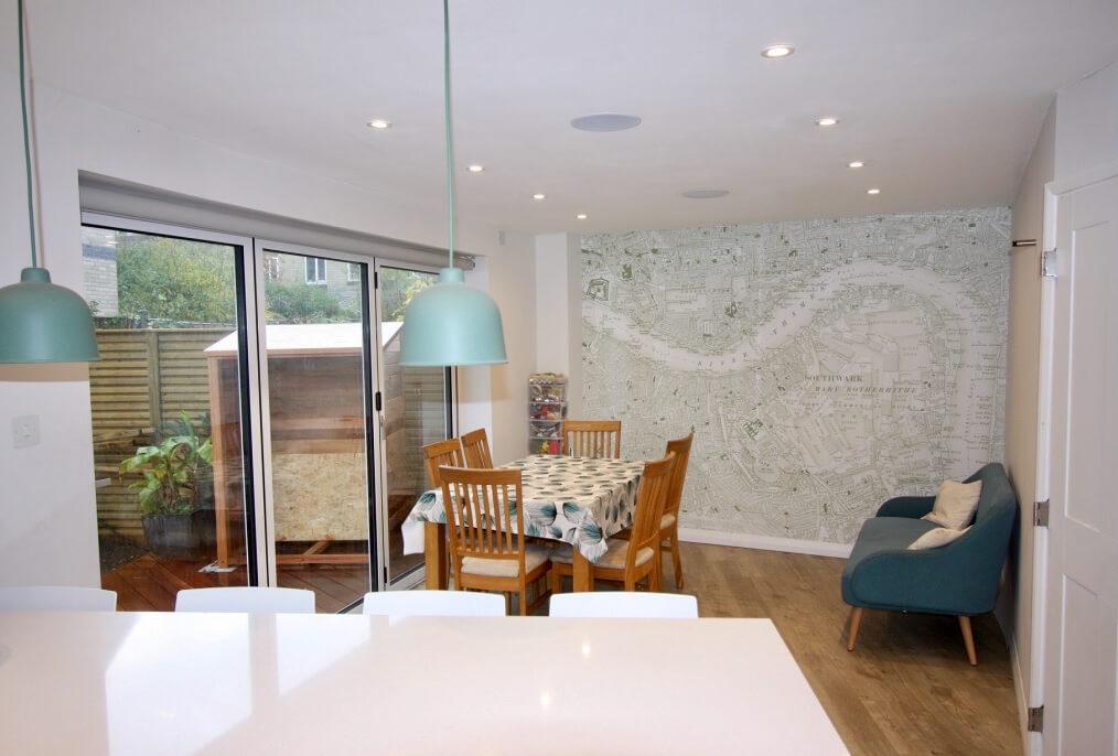 King's Construction | Ground Floor Renovation - Open Plan Living | London SE16