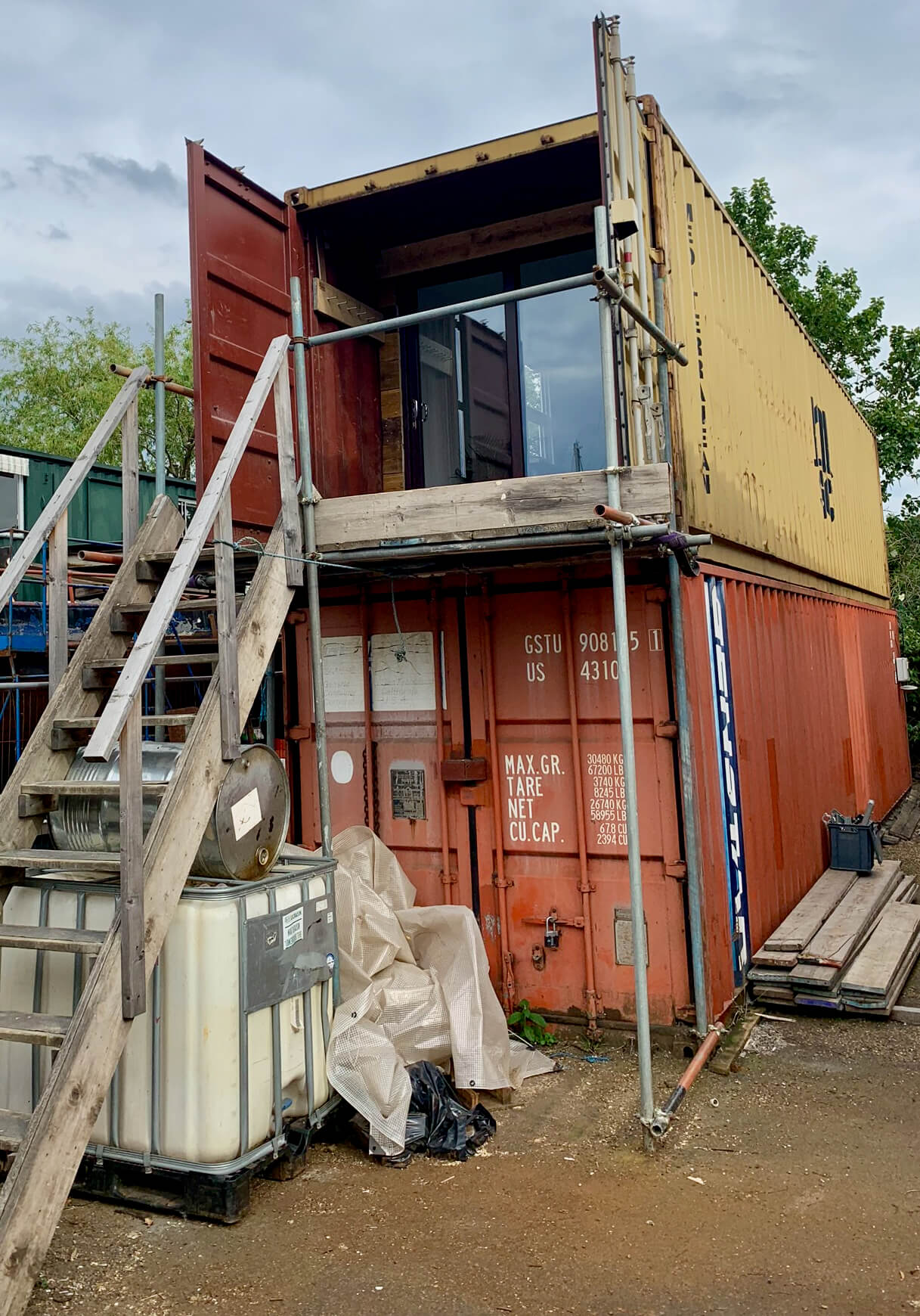 King's Construction | Converting The Shipping Container