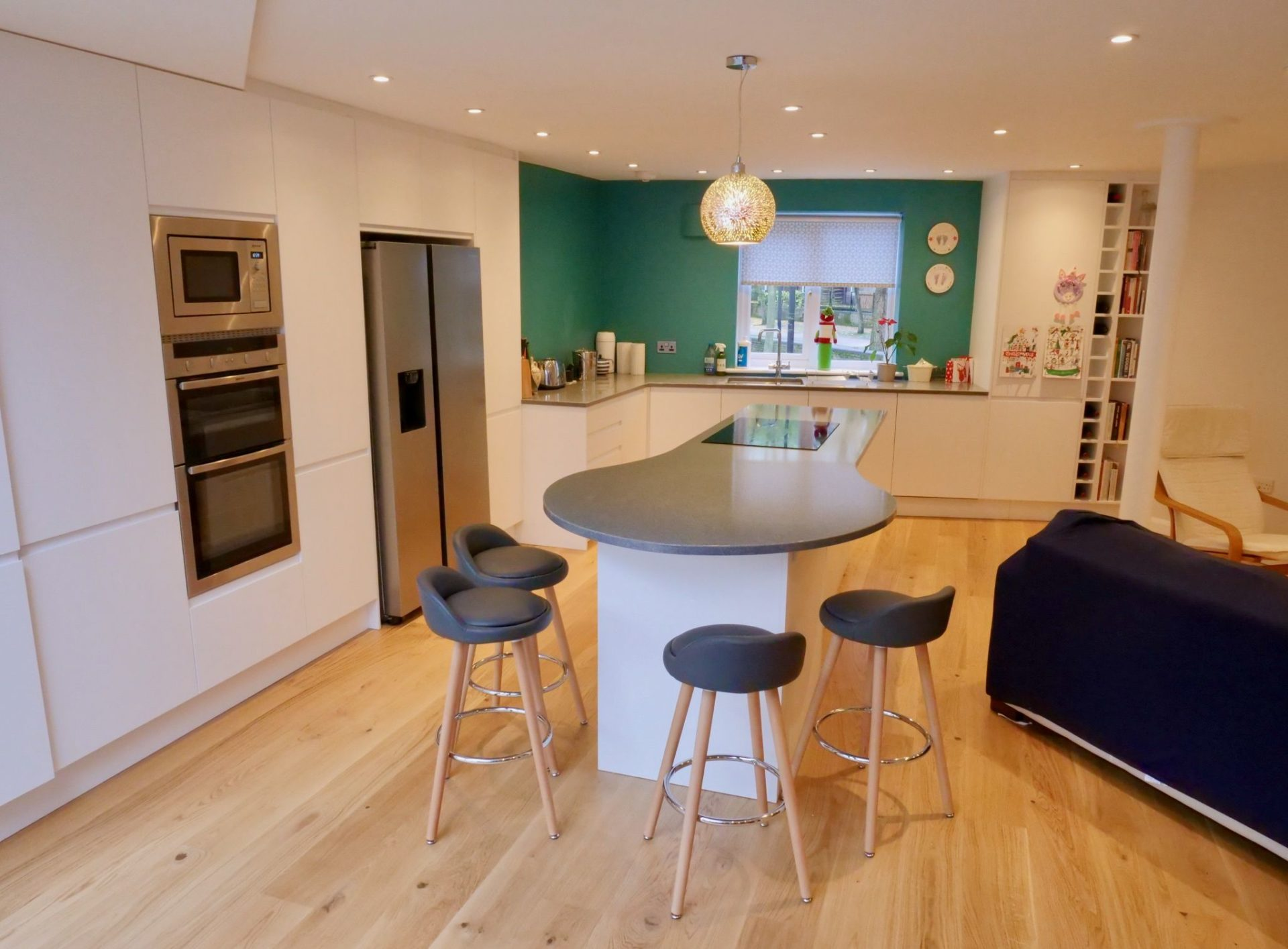King's Construction | Kitchen Full View | Ground Floor Extension | London