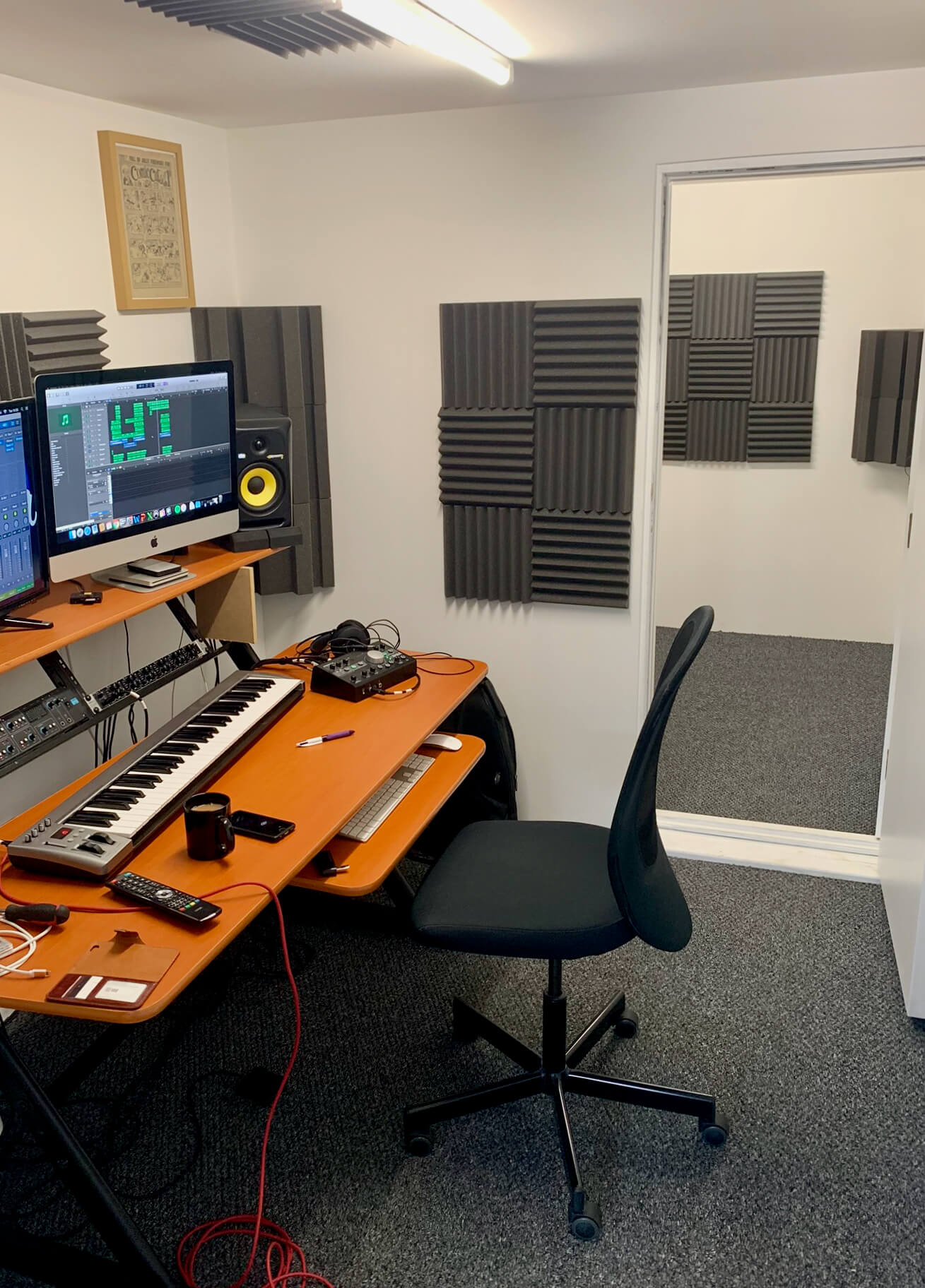 King's Construction | Music Studio | Converted Shipping Container